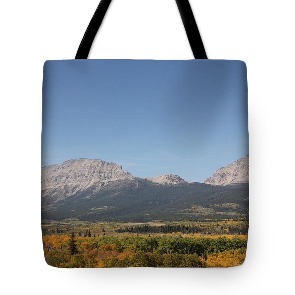 Tote Bag featuring the photograph Montana View by Mitchell Blasdell
