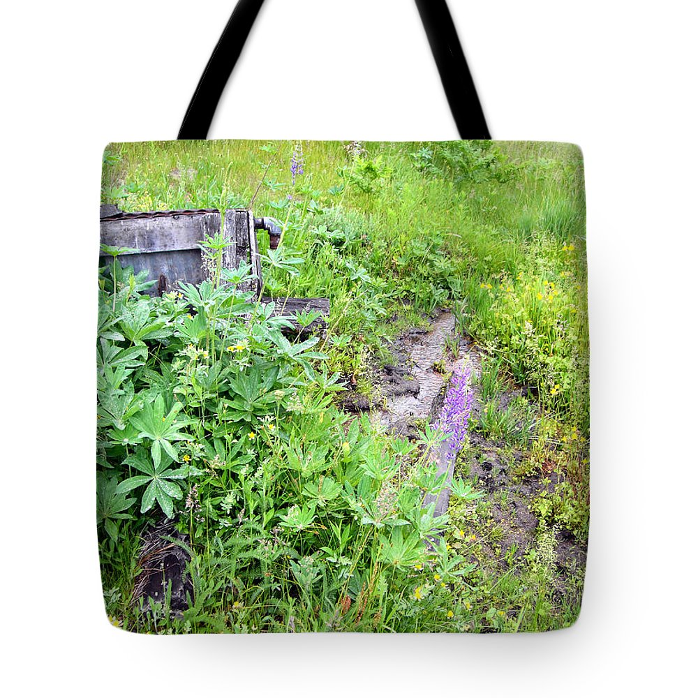Landscape Tote Bag featuring the photograph Montane Meadow 2 by Erika Fischer-Corners