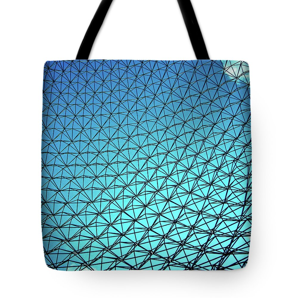 North America Tote Bag featuring the photograph Montreal Biosphere by Juergen Weiss