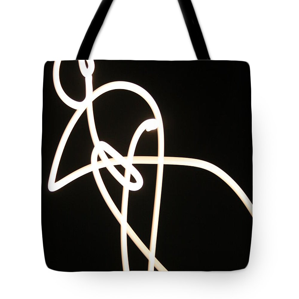 Moon Tote Bag featuring the photograph Moon Drawings by Angie Schutt