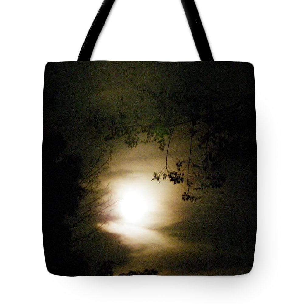 Nature Tote Bag featuring the photograph Moon Glow by Peggy King