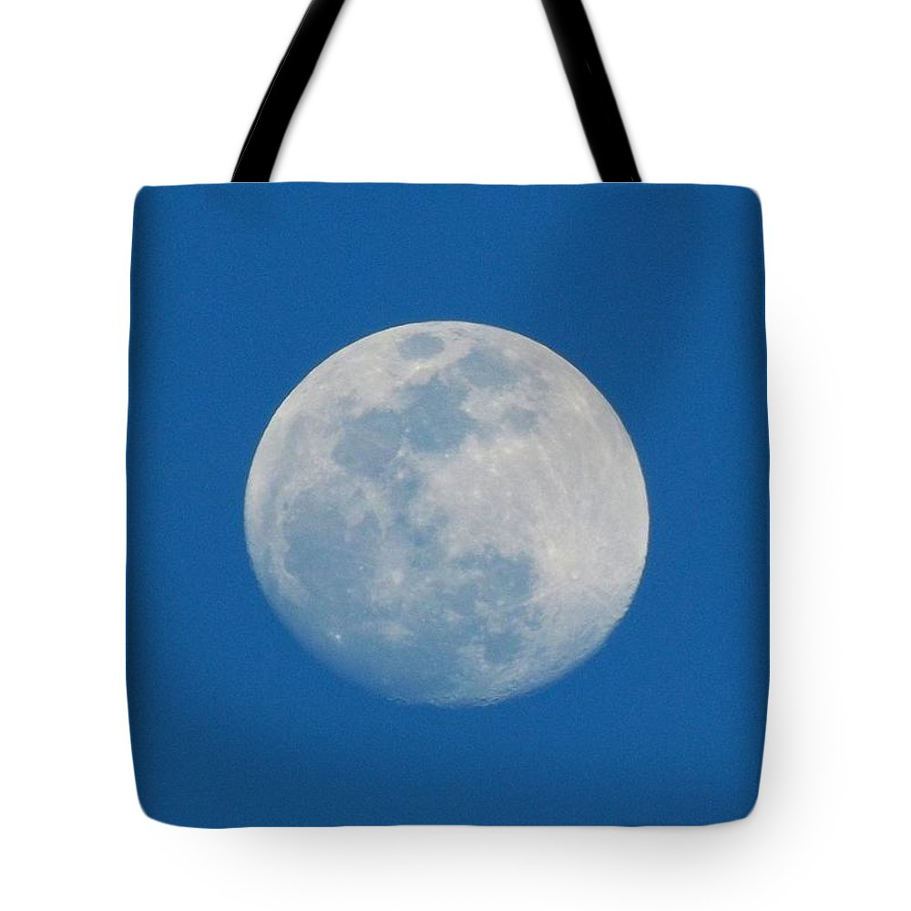 Moon Tote Bag featuring the photograph Moon by Julie Pappas