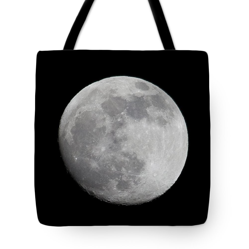 Tote Bag featuring the photograph Moon1 by Brian Jordan