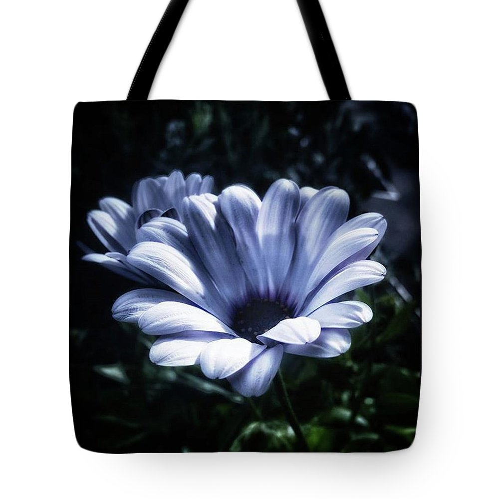 Flower Tote Bag featuring the photograph Moonlit Petals. From The Beautiful by Mr Photojimsf