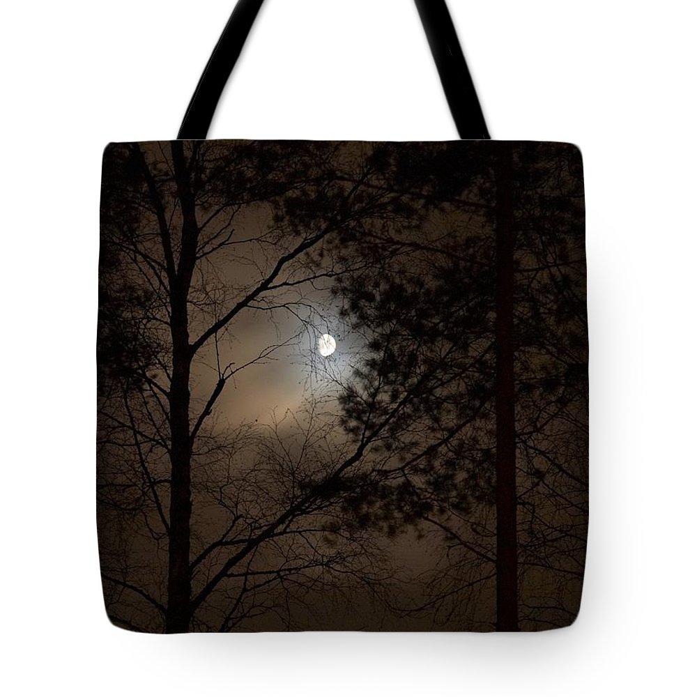 Lehtokukka Tote Bag featuring the photograph Moonshine 05 by Jouko Lehto