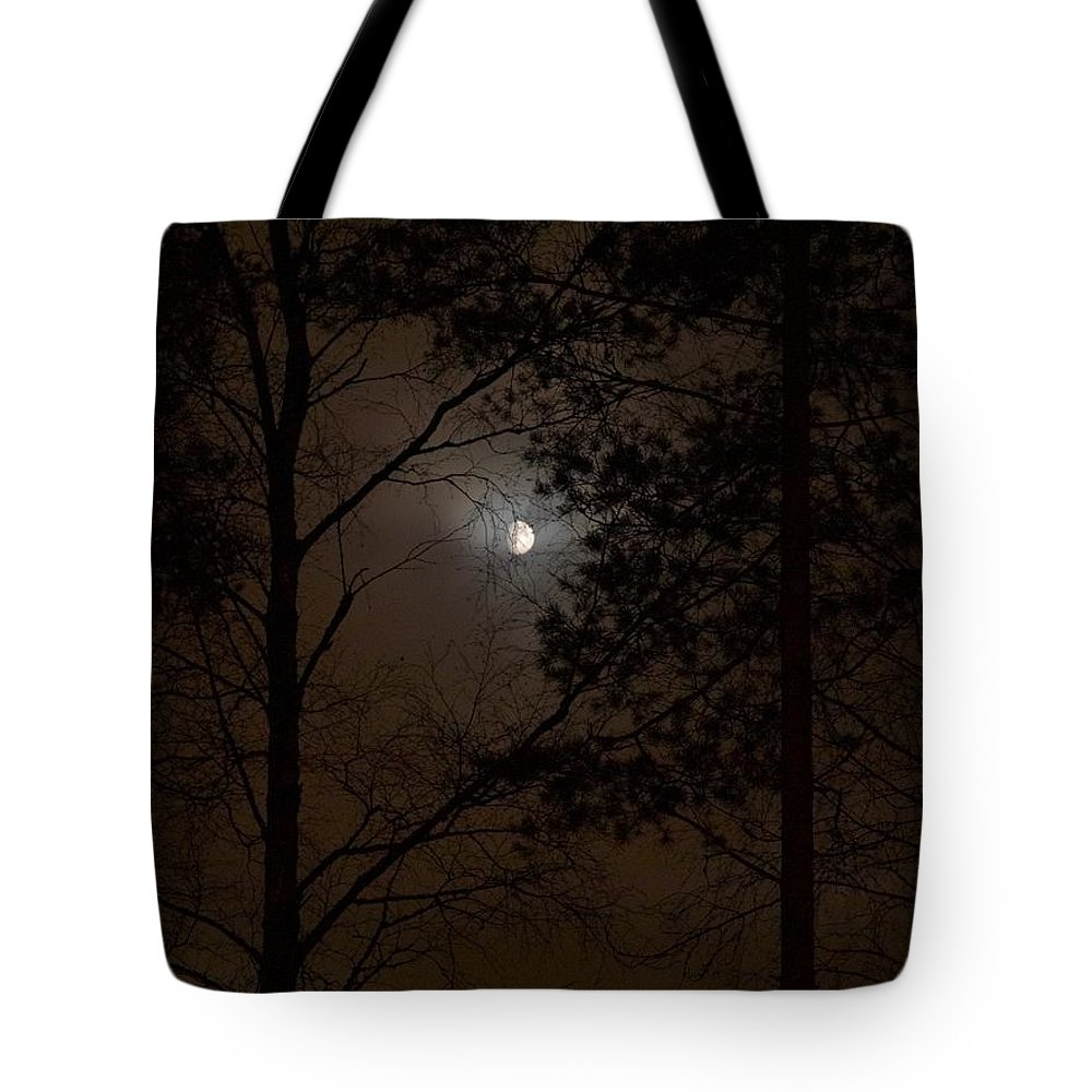 Lehtokukka Tote Bag featuring the photograph Moonshine 07 by Jouko Lehto