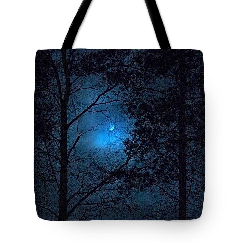 Lehtokukka Tote Bag featuring the photograph Moonshine 09 by Jouko Lehto