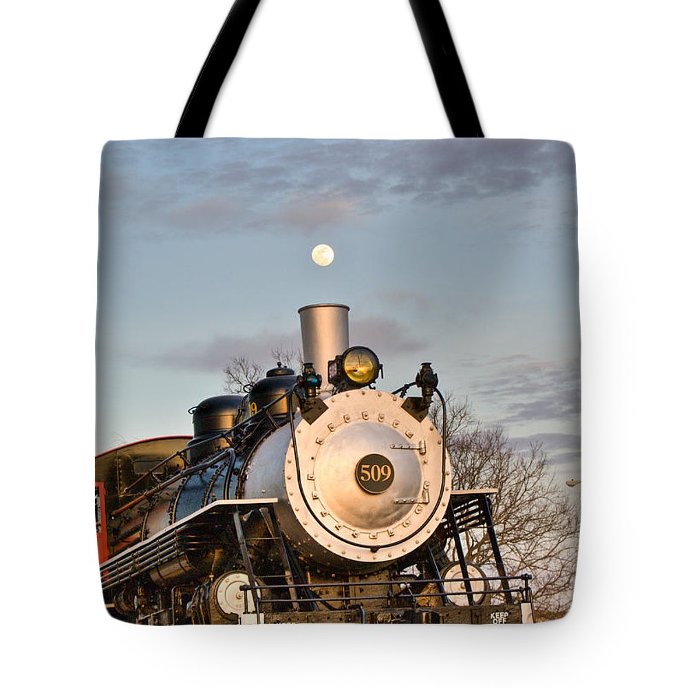 Moon Tote Bag featuring the photograph Moonsmoke by Douglas Barnett