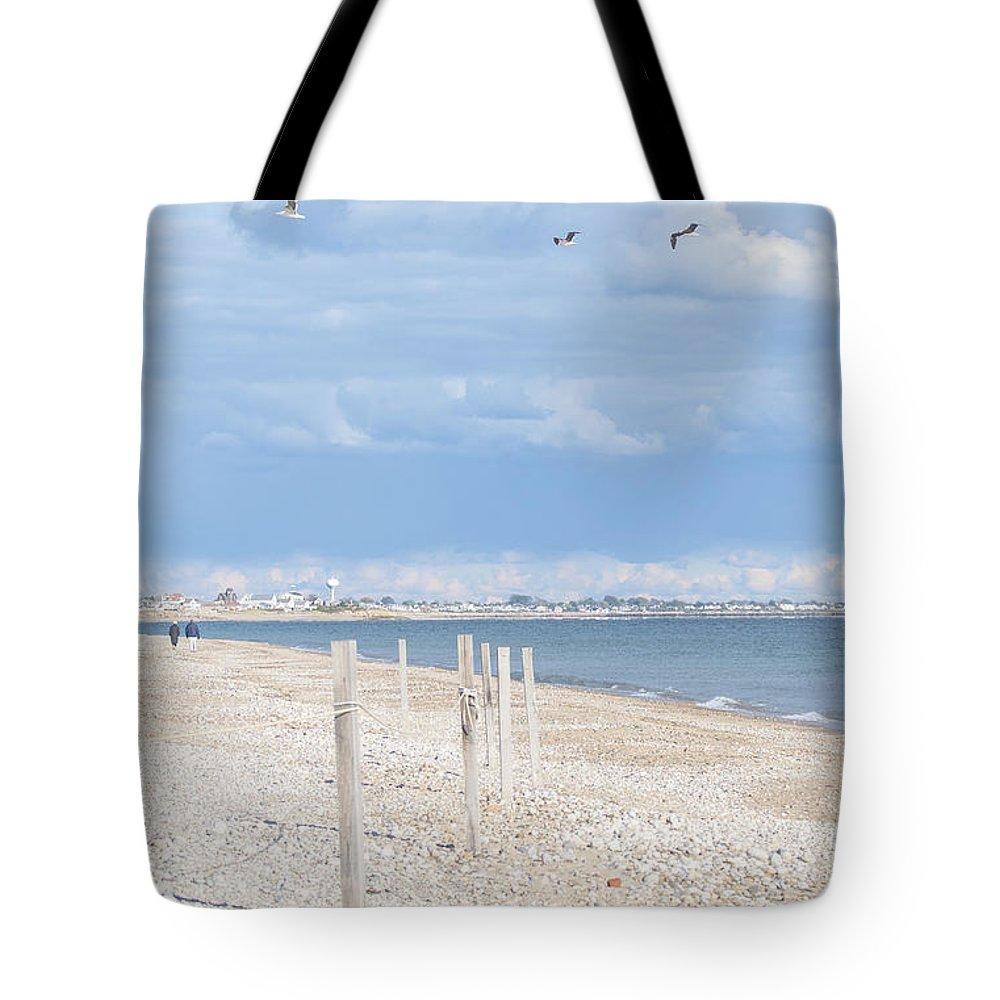 Natanson Tote Bag featuring the photograph Moonstone Beach by Steven Natanson
