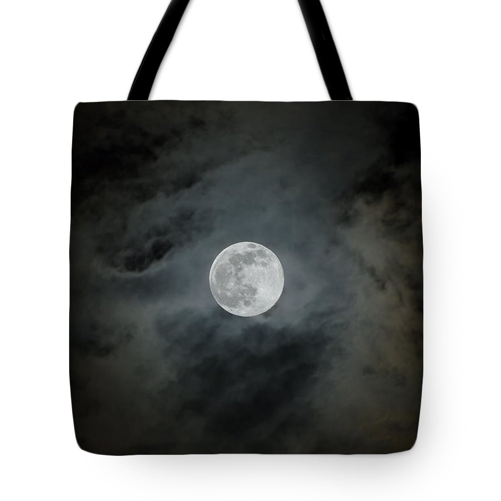 Moon Tote Bag featuring the photograph Moonstruck by Rich Leighton
