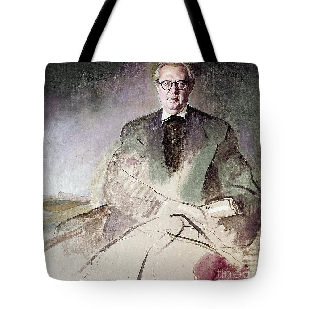1930 Tote Bag featuring the photograph Morcillo: Portrait, C1930 by Granger