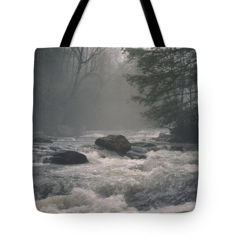 Rivers Tote Bag featuring the photograph Morning At The River by Richard Rizzo