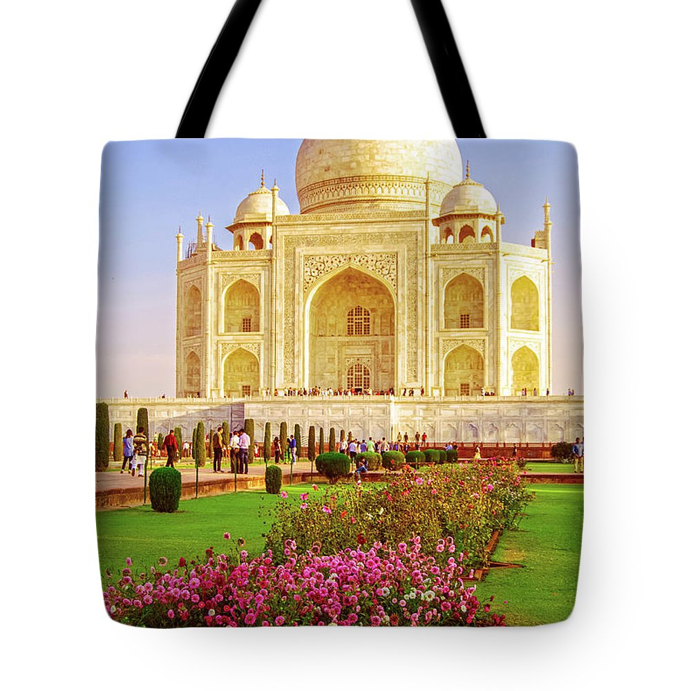 Morning Beauty - Taj Mahal Tote Bag for Sale by Neha Gupta