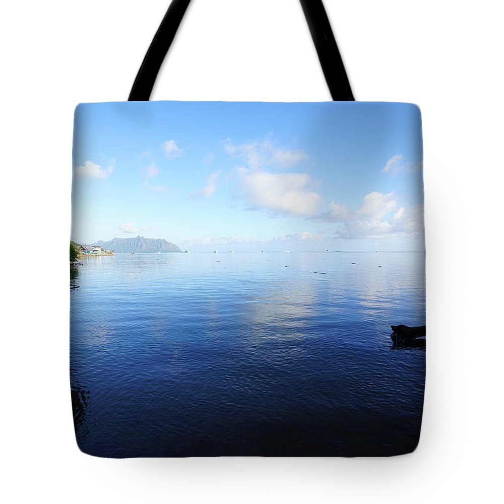 Kaneohe Bay Tote Bag featuring the photograph Morning Calm Kaneohe Bay by Kevin Smith