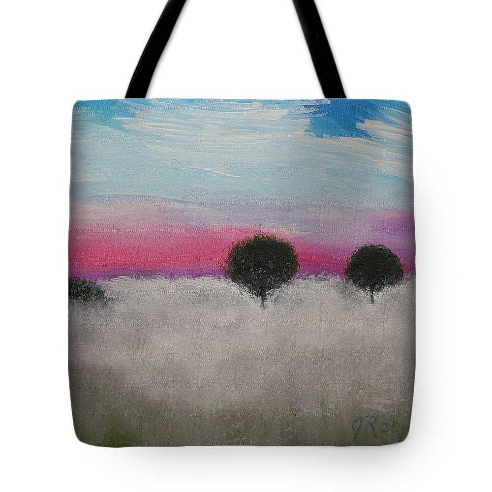 Impressionism Tote Bag featuring the painting Morning Dew And I'm Thinking Of You by J R Seymour