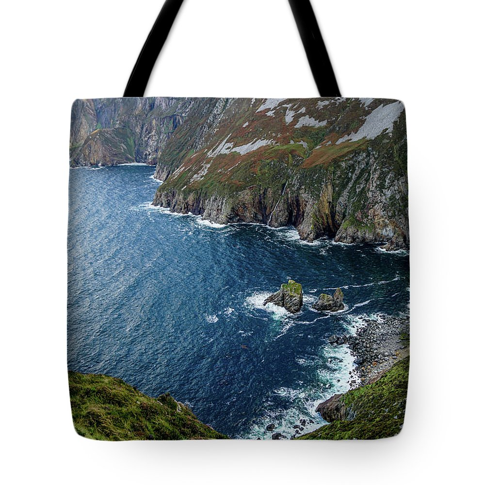 Ireland Tote Bag featuring the photograph Morning Fog by Ric Schafer