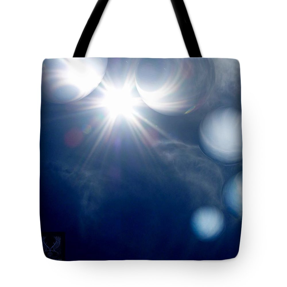 Colorful Tote Bag featuring the photograph Morning Glow by Dale Crum