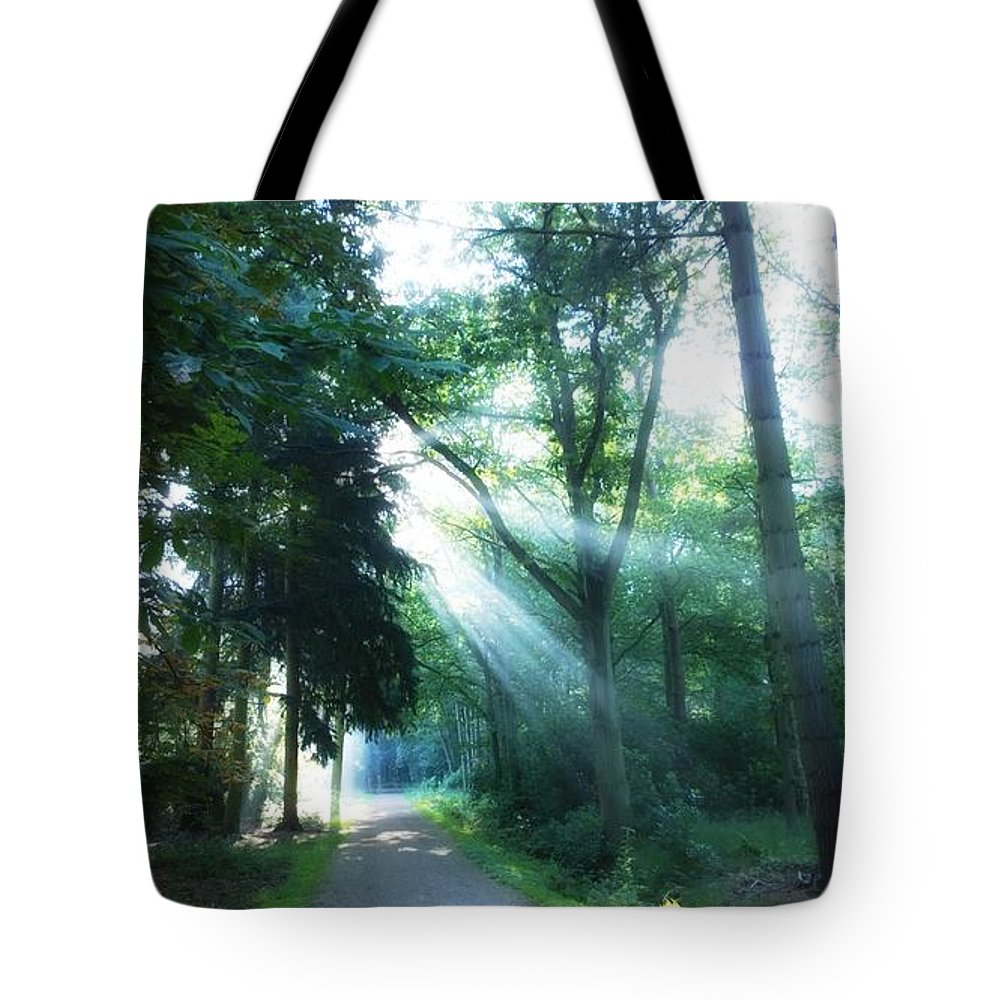 Sunshine Tote Bag featuring the photograph Morning Happiness by Andrea Otte