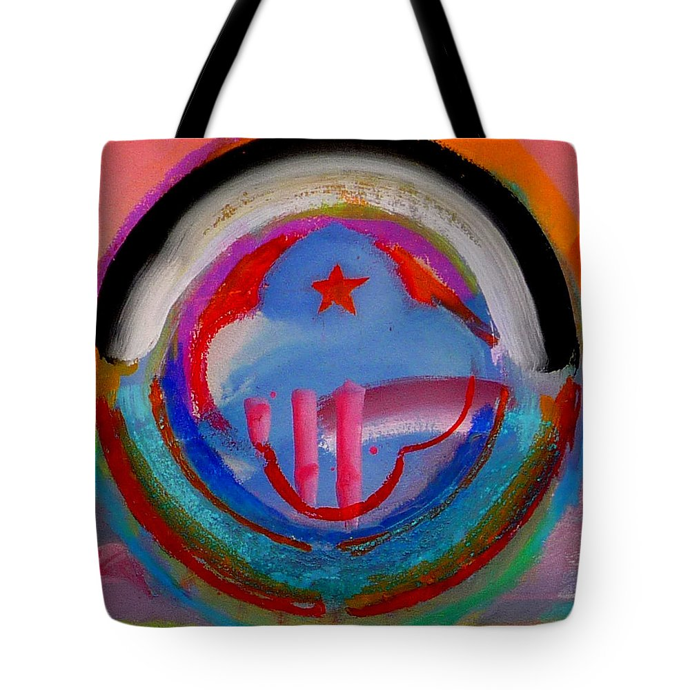 Logo Tote Bag featuring the painting Morning Light by Charles Stuart