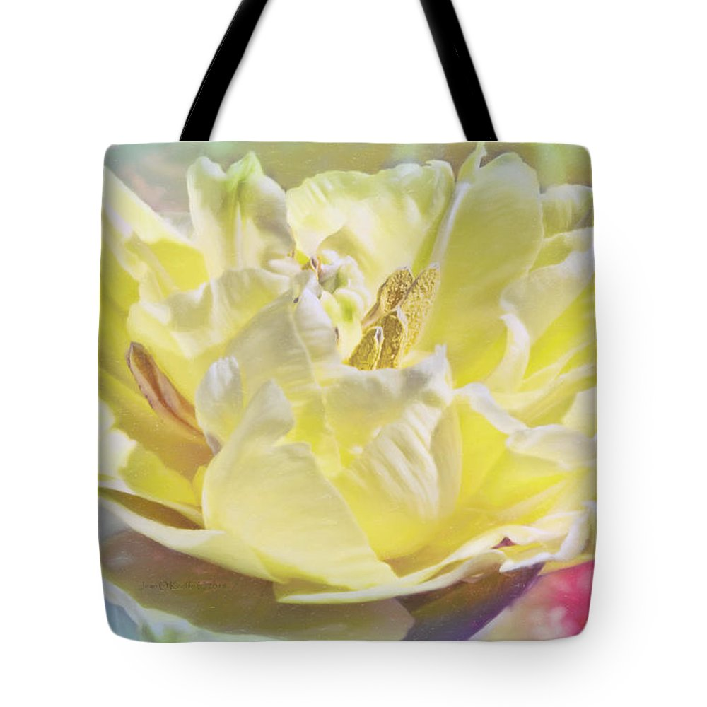 Spring Tote Bag featuring the photograph Morning Light by Jean OKeeffe Macro Abundance Art