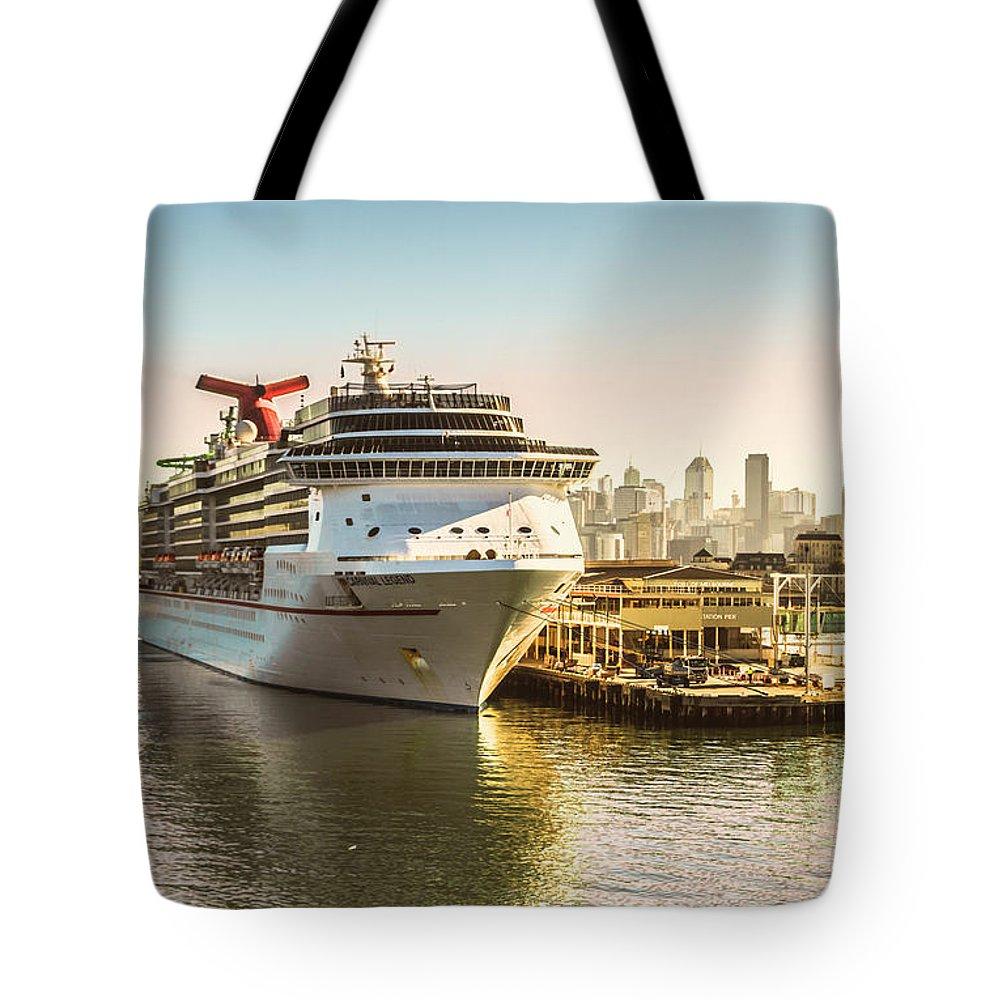 Passenger Ship Tote Bags