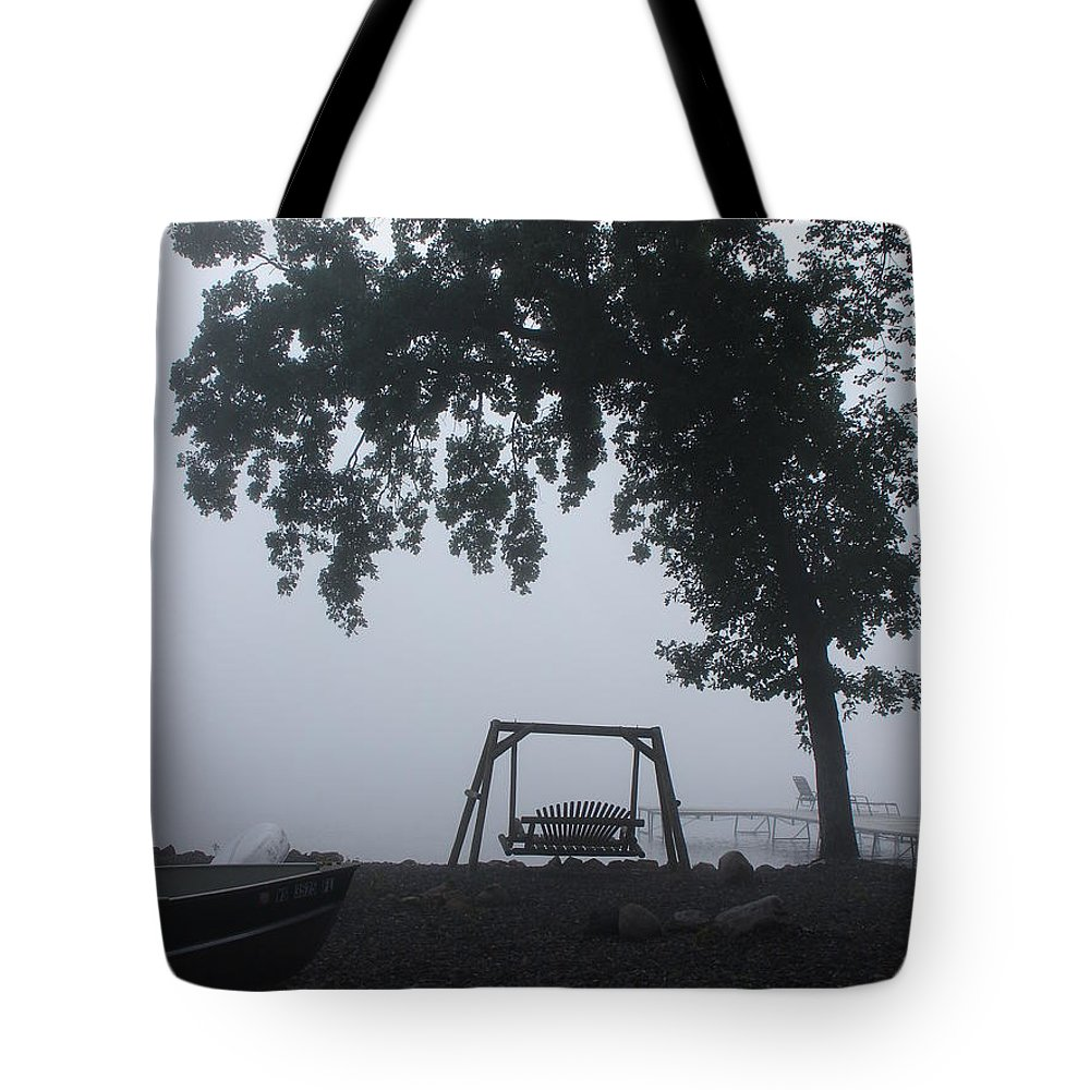 Landscape Tote Bag featuring the photograph Morning Serenity by Susan Joorfetz