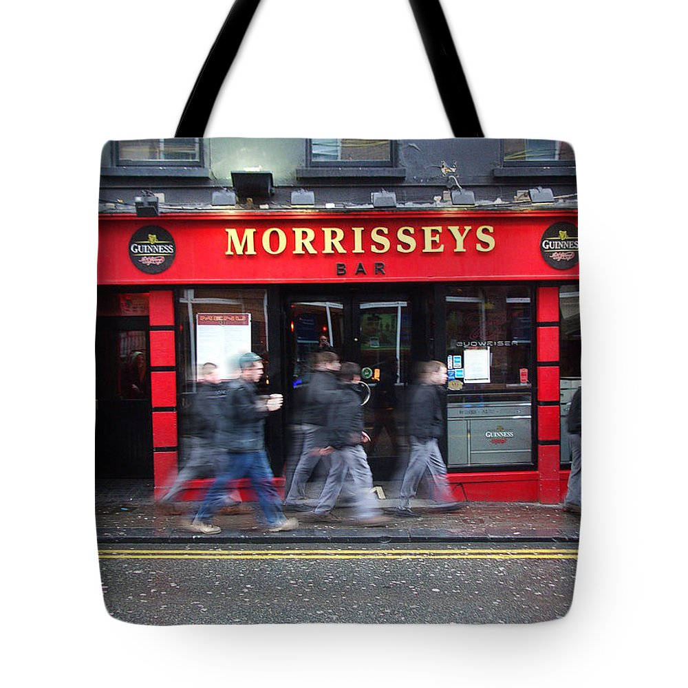 Pub Tote Bag featuring the photograph Morrissey by Tim Nyberg