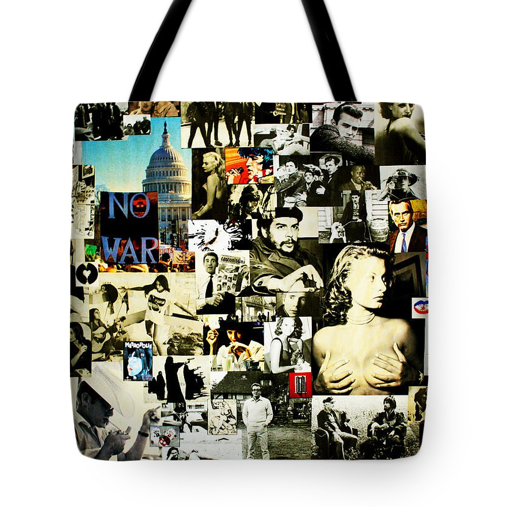 Cinema Tote Bag featuring the photograph Mosaico N.1 by Federico Biancotti