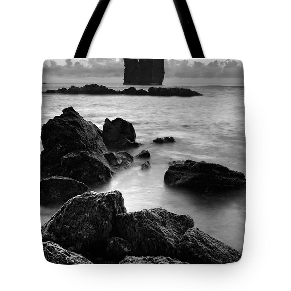 Azoren Tote Bag featuring the photograph Mosteiros Islets by Gaspar Avila