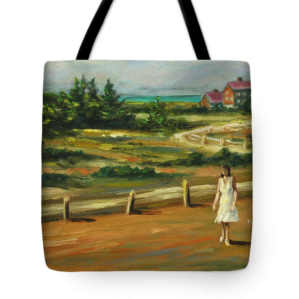 Family Tote Bag featuring the painting Mother And Child by Rick Nederlof