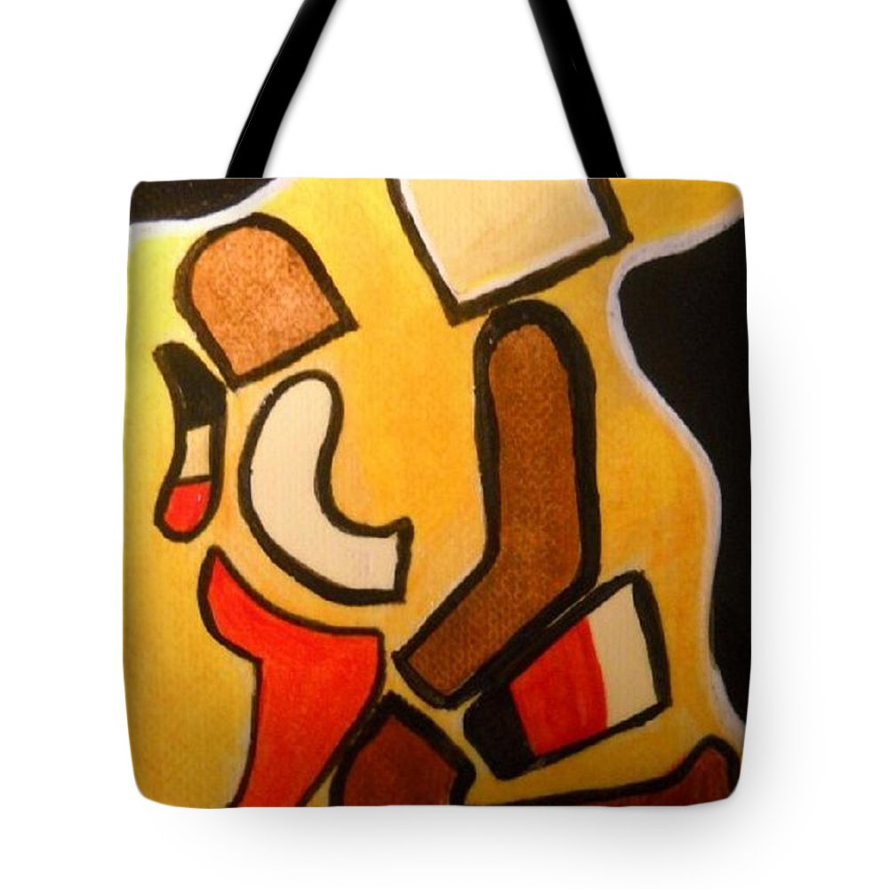 Mother Tote Bag featuring the painting Mother Child by Kelly Turner