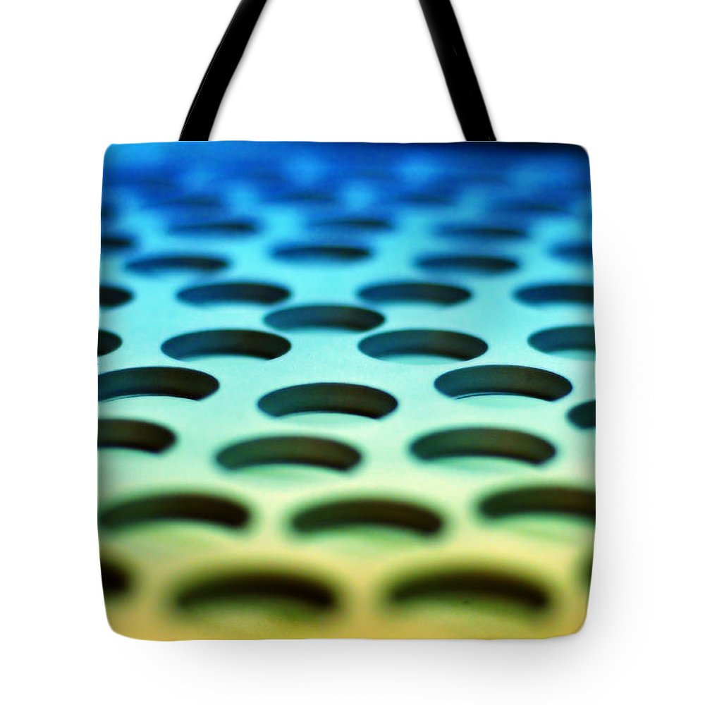 Industrial Tote Bag featuring the photograph Mothership by Skip Hunt