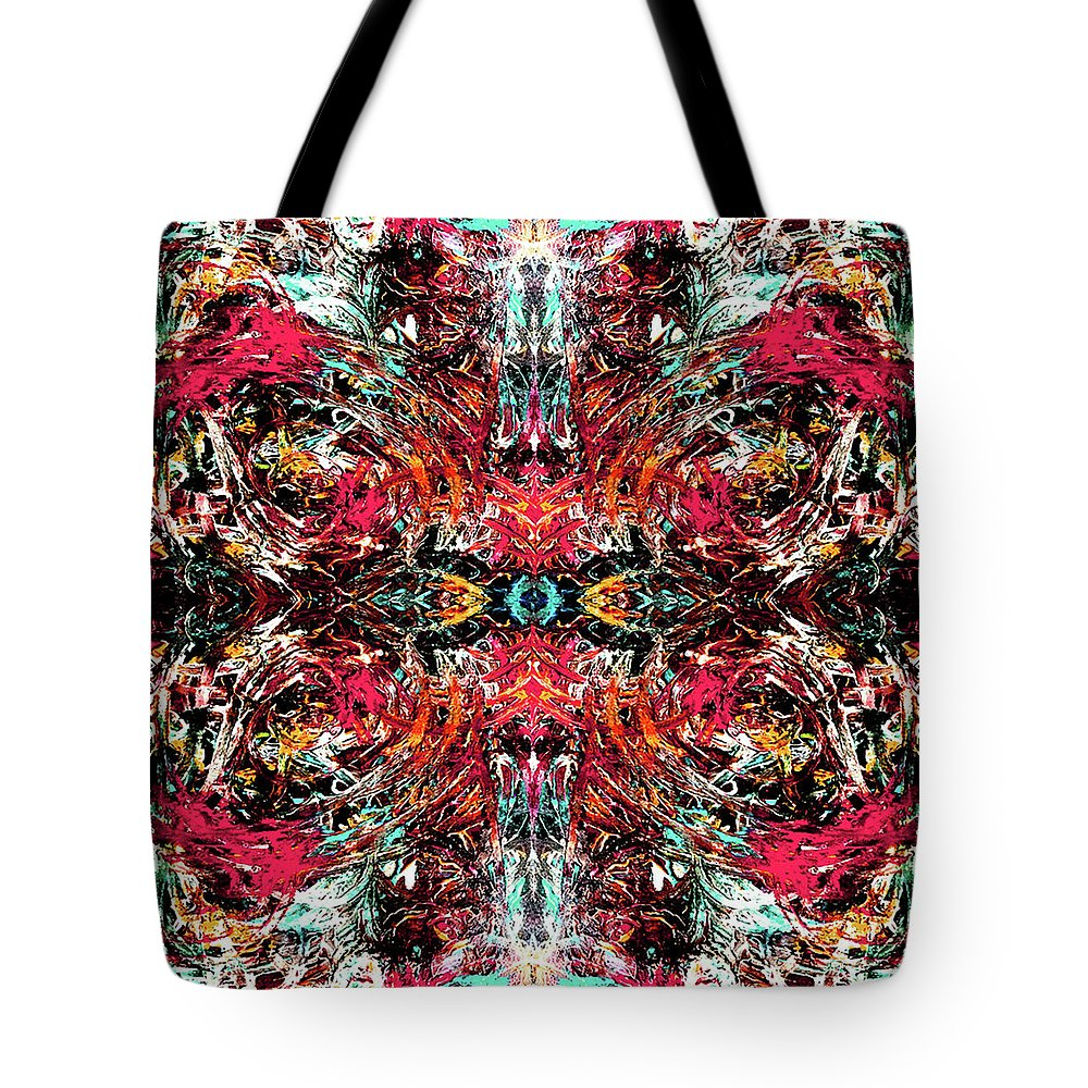 In Motion Tote Bag featuring the painting In Motion by Lynn Dixon