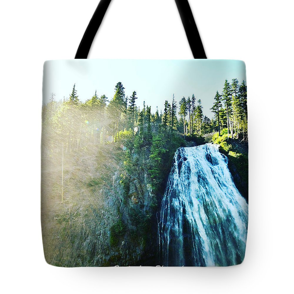 Tote Bag featuring the photograph Mount Rainier National Park by Brandon Larson