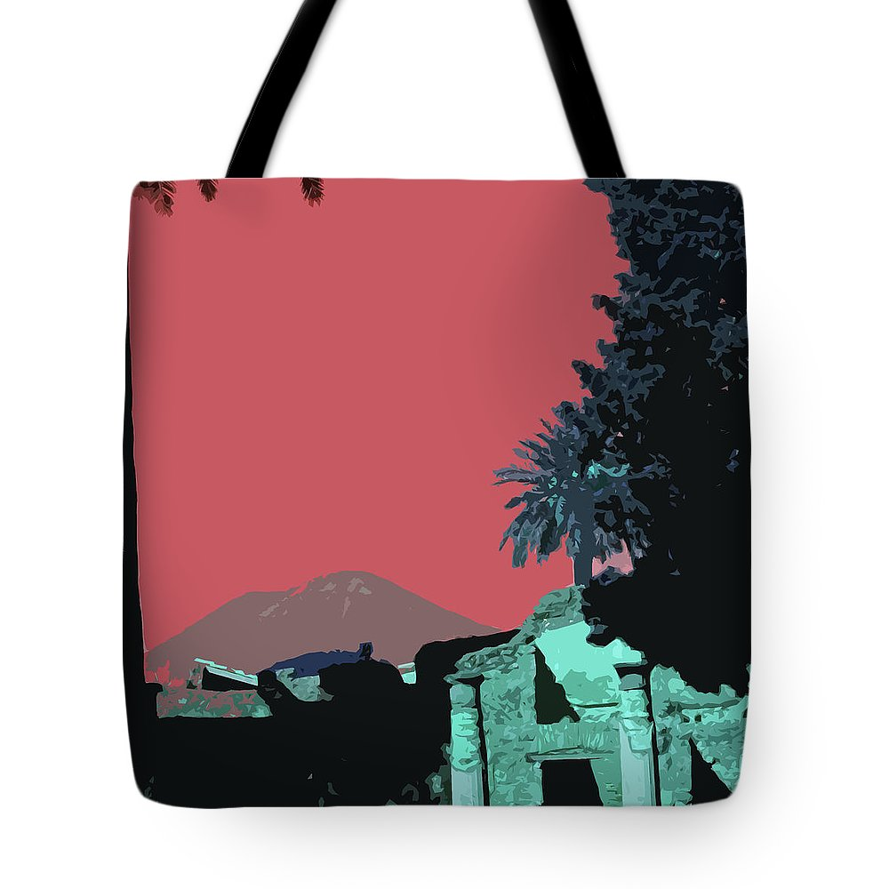 Mount Vesuvious Tote Bag featuring the photograph Mount Vesuvius by James Hill