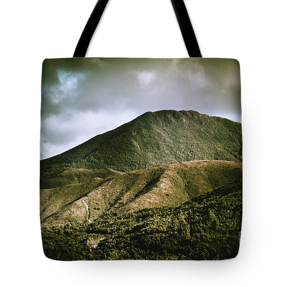 Nature Tote Bag featuring the photograph Mount Zeehan Tasmania by Jorgo Photography - Wall Art Gallery