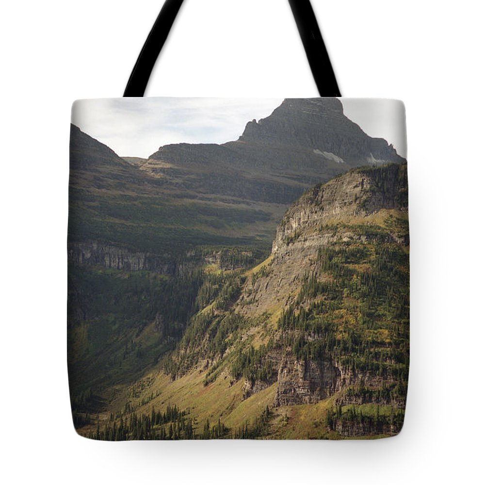 Glacier Tote Bag featuring the photograph Mountain Glacier by Richard Rizzo