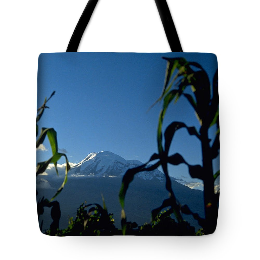 Mountain Tote Bag featuring the photograph Mountain by Michael Mogensen