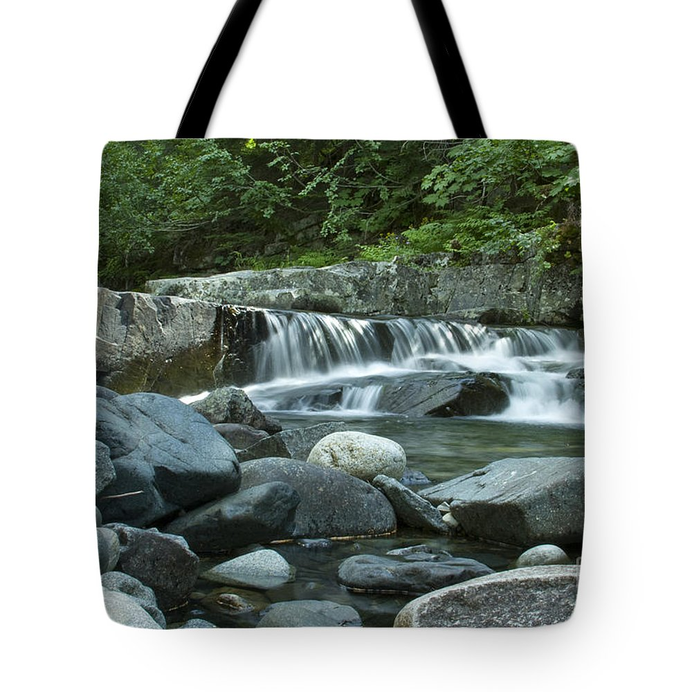 Stream Tote Bag featuring the photograph Mountain Stream by Idaho Scenic Images Linda Lantzy