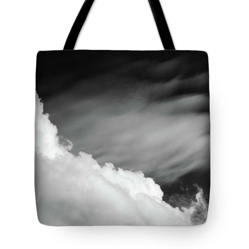 Sky Tote Bag featuring the photograph Mountain by Sven Hartmut Sleur