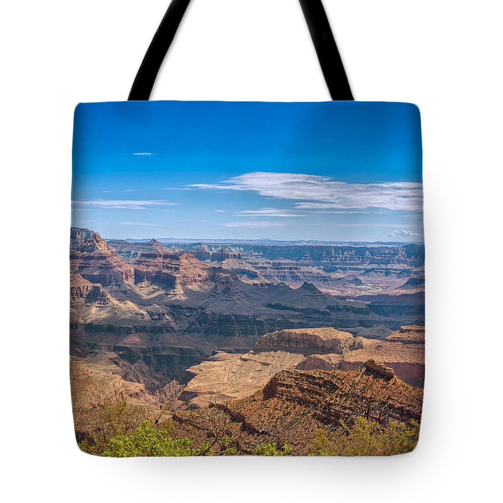 Landscape Tote Bag featuring the photograph Mountains Below The Surface by John M Bailey