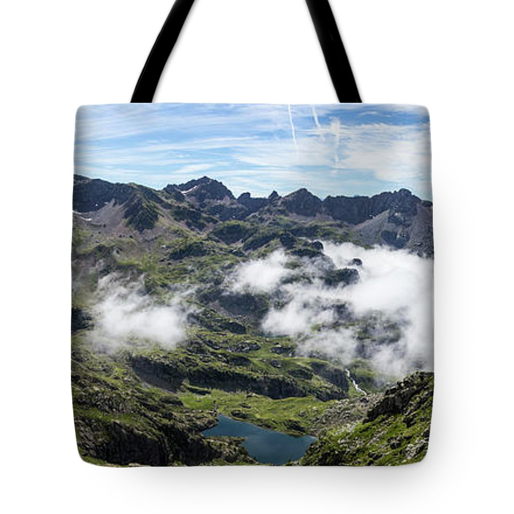 Mountain Tote Bag featuring the photograph Mountains by Sergej Juganov