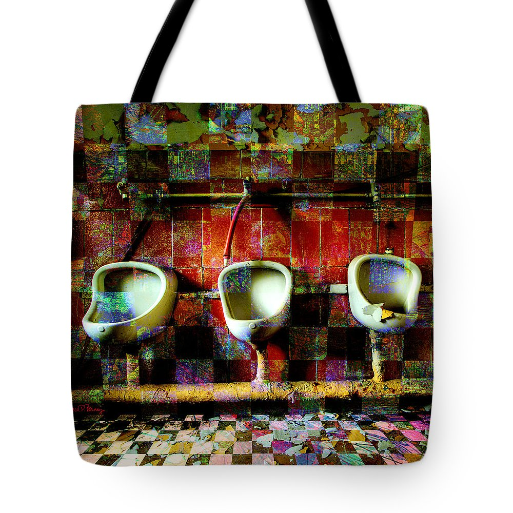 Marcel Duchamp Tote Bag featuring the digital art Move Over Marcel by Barbara Berney