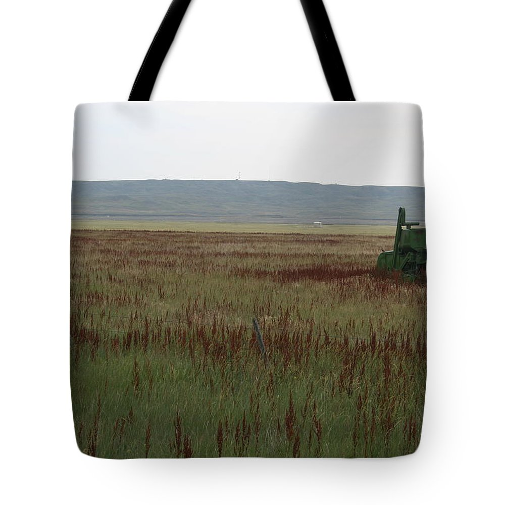Moved On Tote Bag featuring the photograph Moved On by Dylan Punke