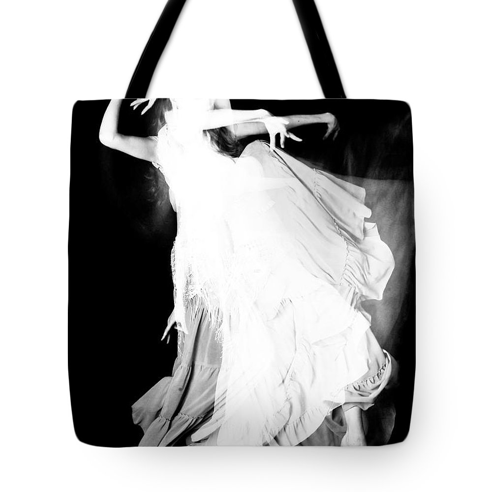 Dance Tote Bag featuring the photograph Movement by Scott Sawyer