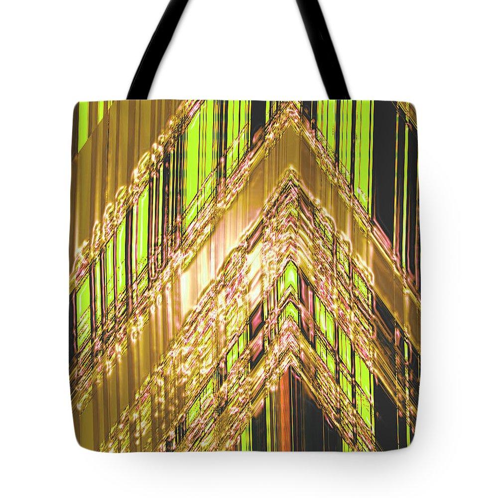 Moveonart! Digital Gallery Tote Bag featuring the digital art MoveOnArt Amplify Your Creativity Three by Jacob Kanduch