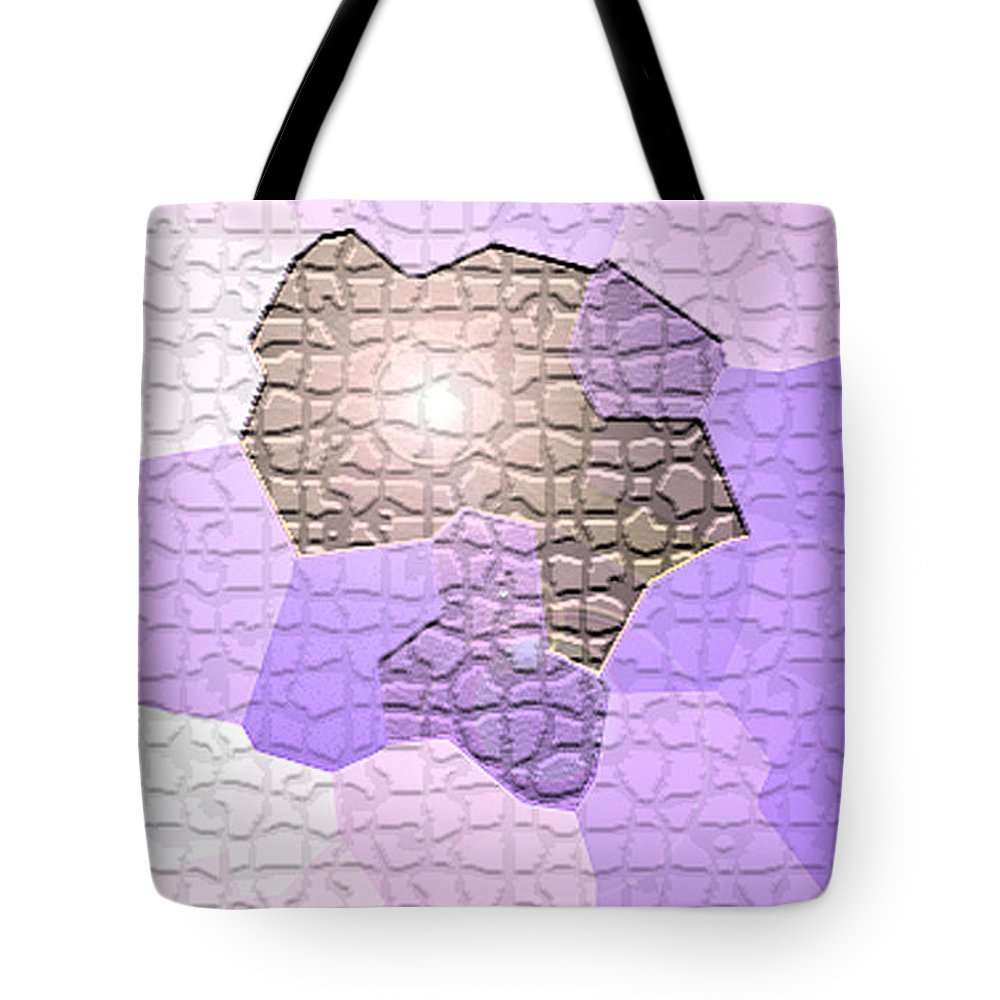 Moveonart! Digital Gallery Tote Bag featuring the digital art MoveOnArt Behind The Scenes by Jacob Kanduch