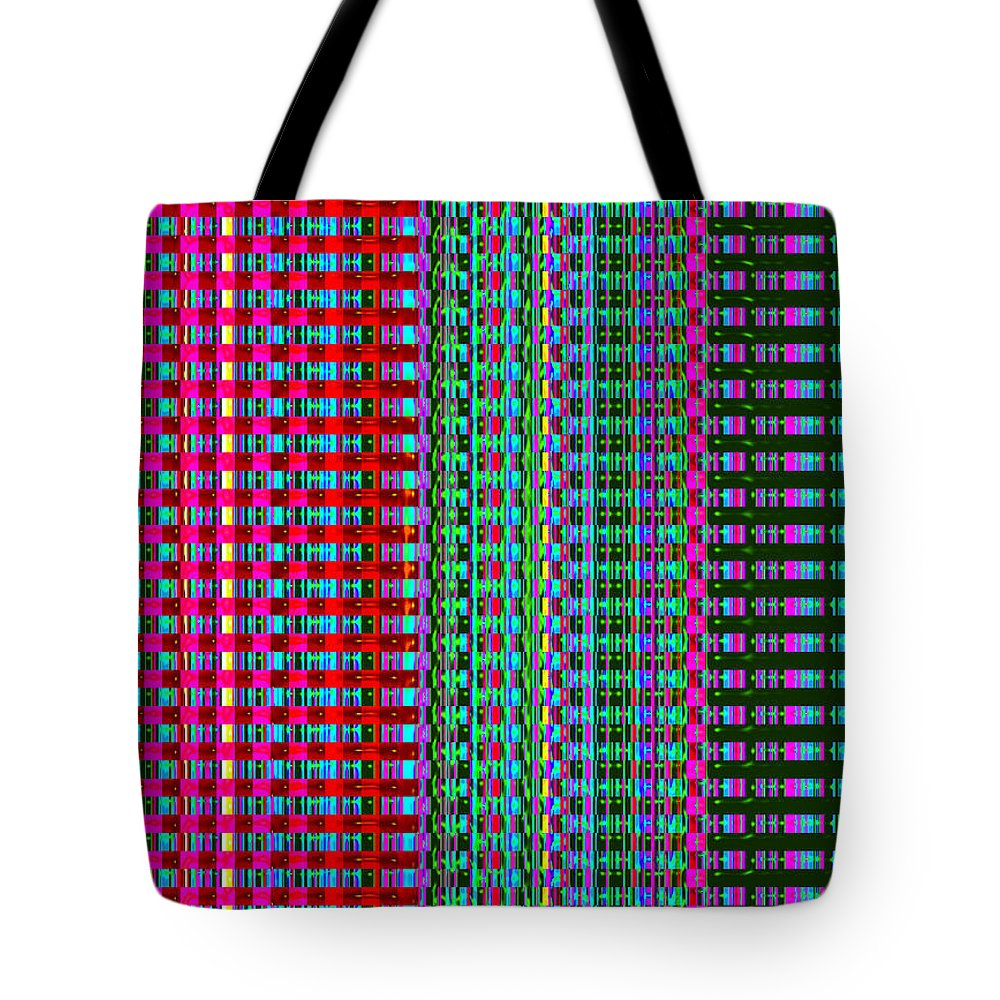 Moveonart! Digital Gallery Tote Bag featuring the digital art MoveOnArt Eye Color Therapy One by Jacob Kanduch