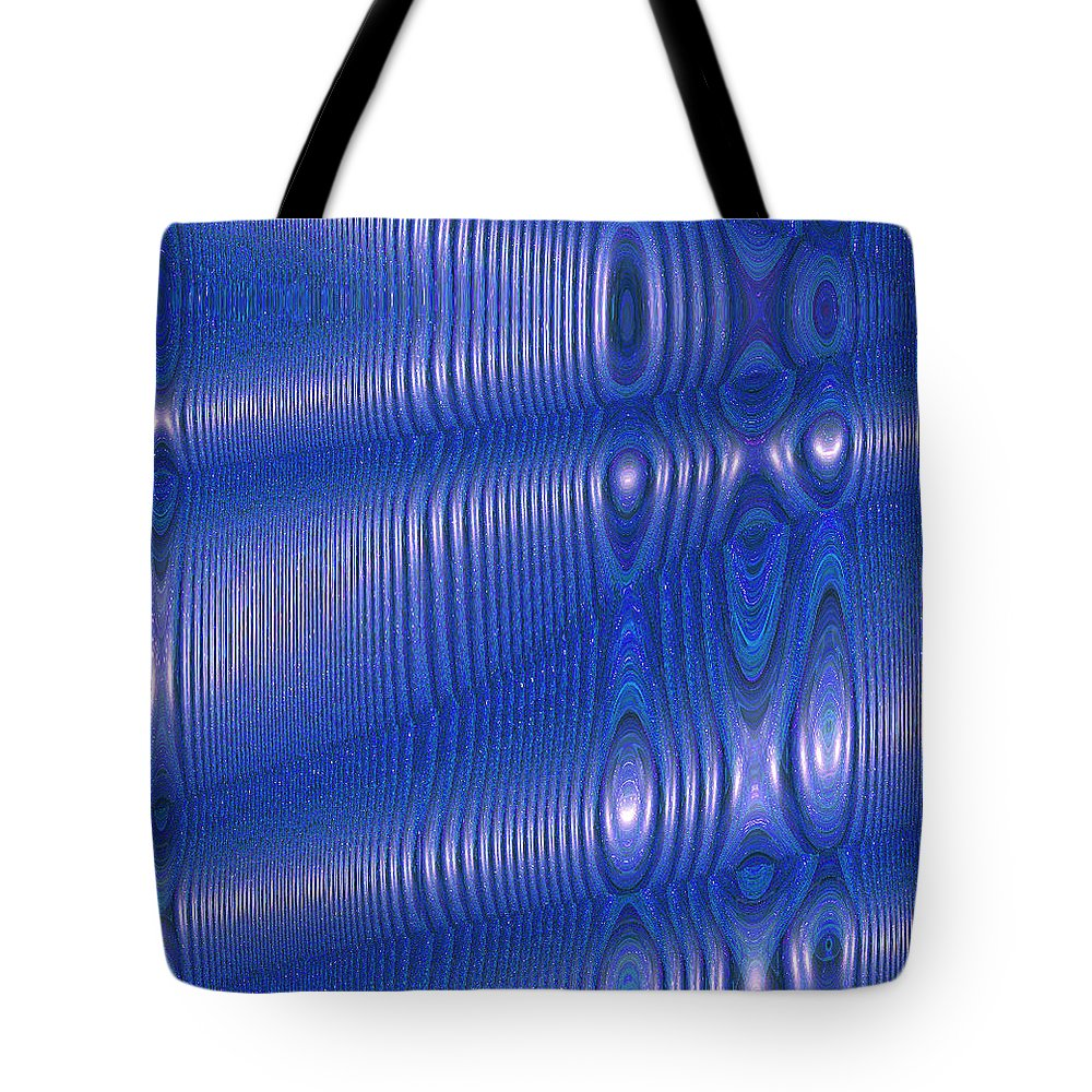 Moveonart! Digital Gallery Tote Bag featuring the digital art MoveOnArt Future Texture Soul 1 by Jacob Kane Kanduch by Jacob Kanduch