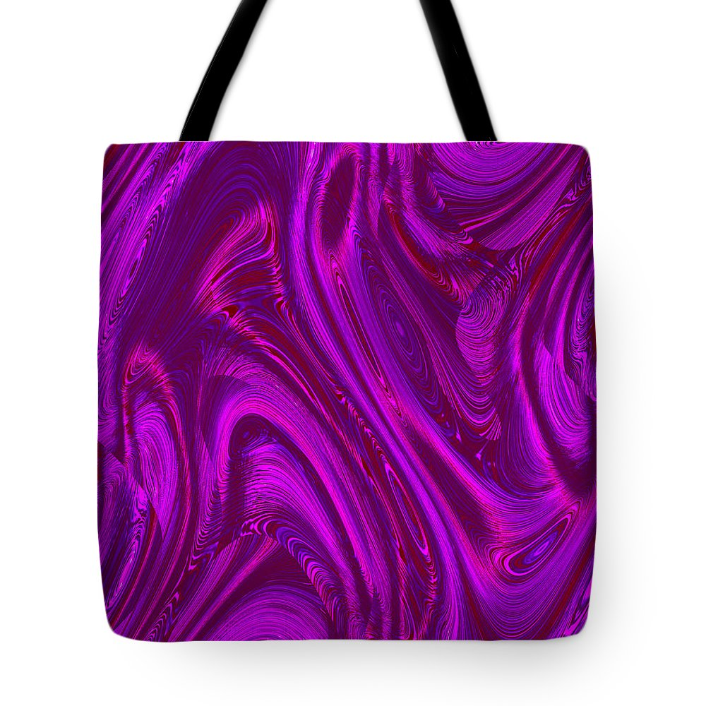 Moveonart! Digital Gallery Tote Bag featuring the digital art MoveOnArt Holding Fast During Uncertainty by Jacob Kanduch
